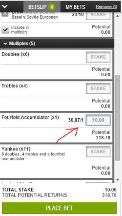 choose Ladbrokes accumulator stake